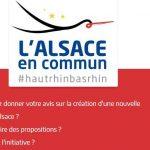 Serons-nous bientôt des habitants de « la collectivité d'Alsace » ?